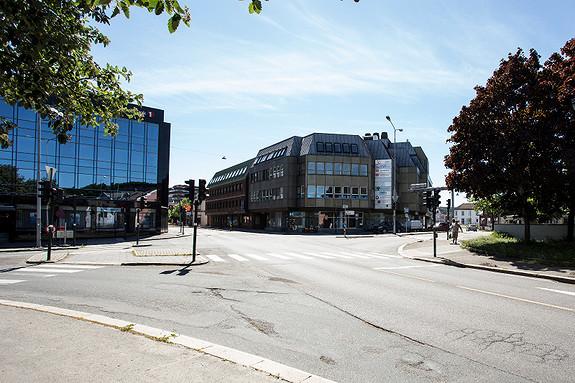 Gateplan Kontor -Butikk lokale 418m2