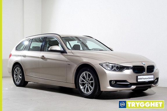BMW 3-serie 316i Touring Advantage Edition aut -SportLine-DAB+-Hengerfeste-Bluetooth-Norsk++