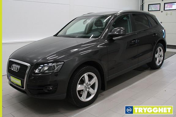 Audi Q5 2,0 TDI 170 hk quattro S tronic ,Klima,cruise,xenon,webasto,sportseter,parksensor bak,
