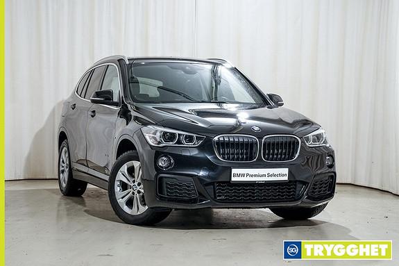 BMW X1 xDrive18d 136hk aut M-Sport Krok Cam LED Act.Cruise Navi DAB HIFI Comf.Acc