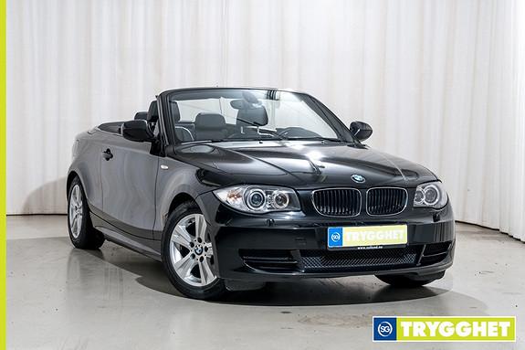 BMW 1-serie 118d Cabriolet (136hk) Sportseter Alarm Xenon HIFI PDC USB/Bluetooth