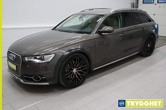 Audi A6 allroad quattro 3.0 TDI 204hk S tronic ,Navi,parksensorer,tlf,DAB+,webasto,adapt.cruise