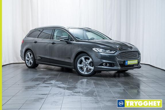 Ford Mondeo 2,0 TDCi 150hk Titanium aut Topp utstyrt!, Premium sound, Adaptiv crusie, LED, Navi
