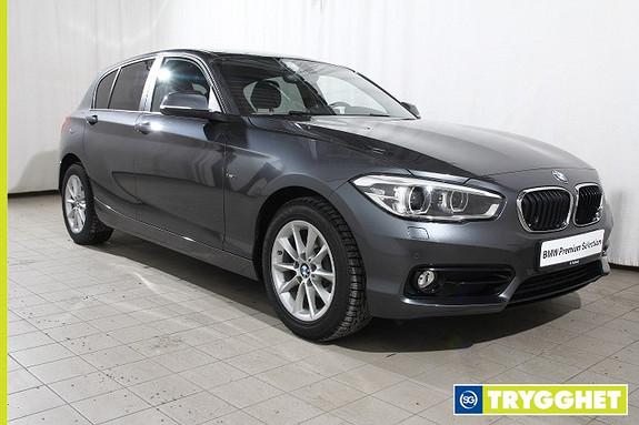 BMW 1-serie 116d Facelift-Sportline-Norsk-Oppv.ratt-fj.lysaut-DAB-Bluetooth-Sportsseter-PDC-etc