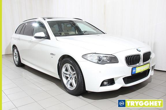 BMW 5-serie 520d xDrive 184hk Advantage Edition aut. M Sport, Navi, Sportsstoler,Skinn,panorama
