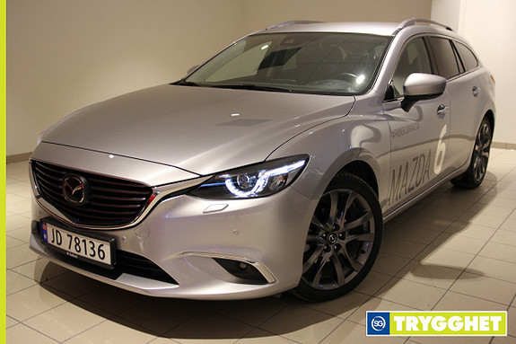 Mazda 6 2,2D 175hk Optimum AWD aut Demobil / Facelift / Alt uts
