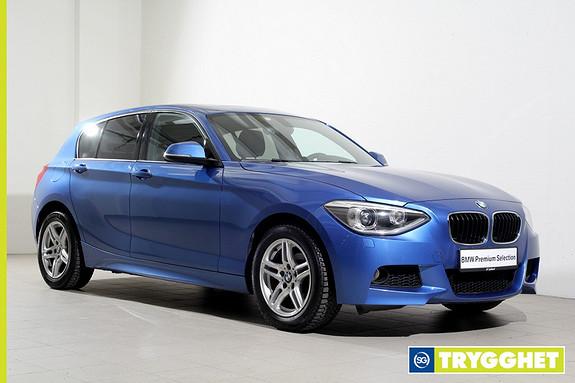 BMW 1-serie 116i Advantage Edition aut -Mpakke-Xenon-Sensorer-DAB+-Soltak-HiFi-Bluetooth++