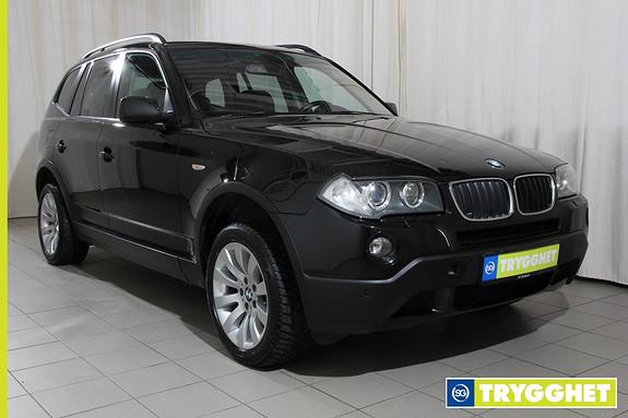 BMW X3 2.0d Automat Navi,telefonsystem,hengerfeste,panoramatak,177hk automat