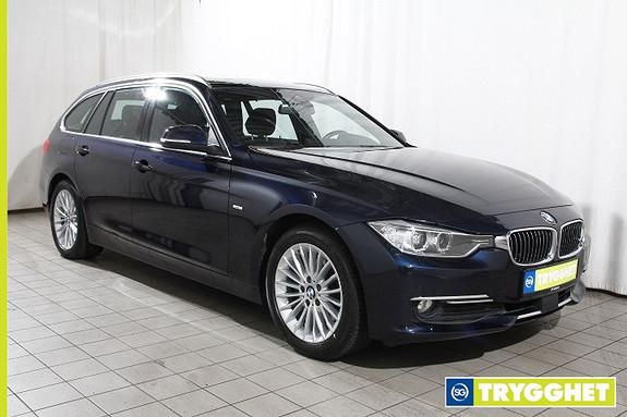 BMW 3-serie 320daT 184hk Lux.line-Act.cruise-Navi-DAB-Pano.tak-aut.bakl-HiFi-el.hengerf-Norsk