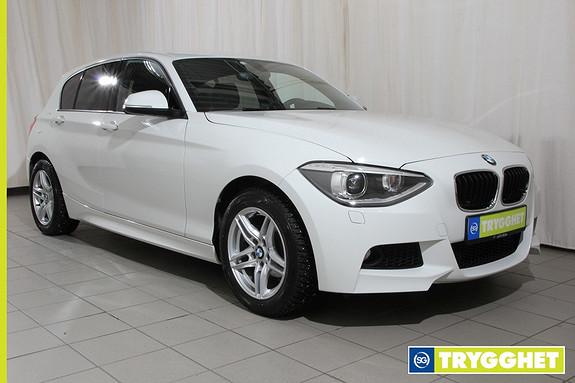 BMW 1-serie 116d Advantage Edition aut Automat,Msport,lav kmstand.Som ny
