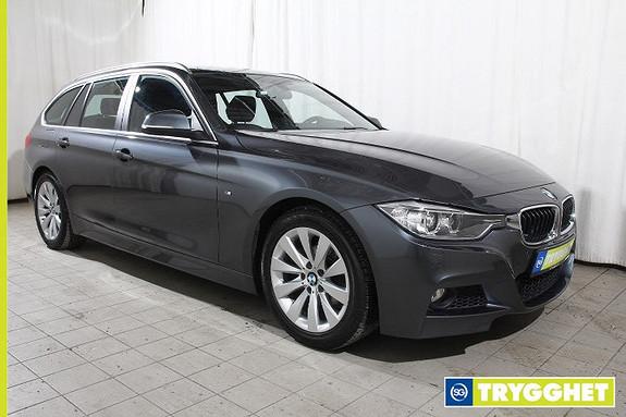 BMW 3-serie 316d 2.0 M Sport-Norsk-Blåtann-DAB-PDC foran og bak-BiXenon-Alle servicer ok