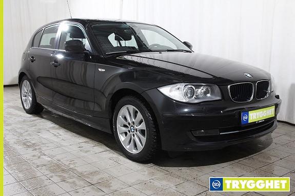 BMW 1-serie 118d Automat 143hk-Navi-El.soltak-PDC-Utvidet blåtann-USB-X-Alle servicer ok-lav km