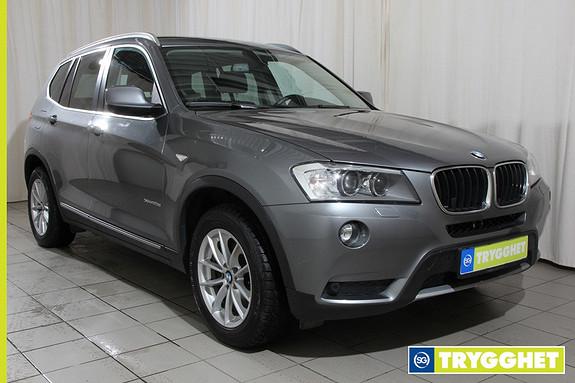 BMW X3 xDrive20d (163hk) Automat Sportstoler,Navi