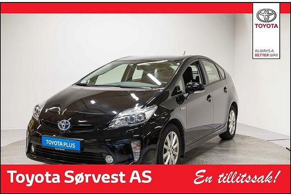 Toyota Prius 1,8 VVT-i Hybrid Executive (Nydelig, topp-utstyrt, med skinnseter)  2013, 30640 km, kr 219000,-