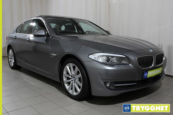 BMW 5-serie 525d xDrive (218hk) Automat ryggekamera,headup,navi,soltak,komf.stoler,activ cruice