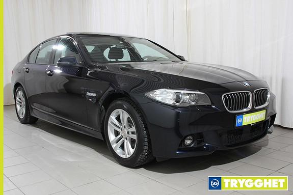 BMW 5-serie 520d xDrive 184hk Advantage Edition aut. Sportsstoler, Navi, M Sport ++