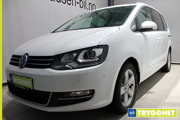 Volkswagen Sharan 2,0 TDI 150hk Highline 4MOTION WEBASTO, KROK, INTGR.BARNESETE, BI-XENON