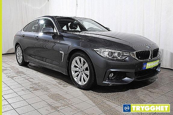 BMW 4-serie 420d Gran Coupe automat M Sport-Norsk-Skinn-DAB-Soltak-Comf.acc-el.seter-Ad.X-oppv.ratt-Fj.lysaut-