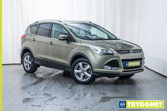 Ford Kuga 2,0 TDCi 140hk Titanium aut Fjernstyrt dieselvarmer, Xenon, Ryggekamera, DAB+, Navi++