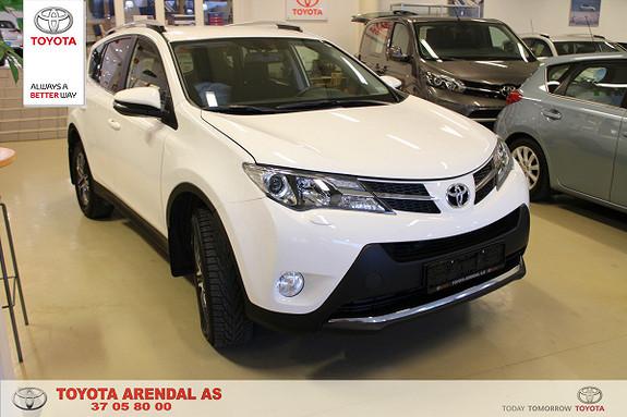 Toyota RAV4 2,0 D-4D 4WD Active Active med pakke, el bakluke, dab + , keylees ++  2014, 73000 km, kr 319000,-
