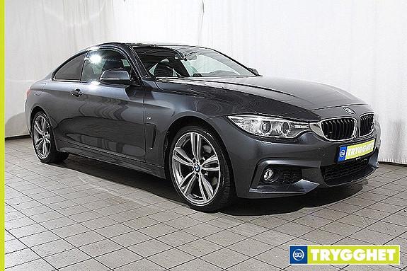 BMW 4-serie 420dA xDrive Coupe M sport-Navi-DAB-Soltak-Fj.lysautomatikk-bluetooth-en eier