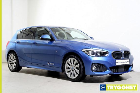 BMW 1-serie 118d 150hk aut -Mpakke-NaviPro-AktivCruise-HarmanKardon-Lyspakke-ComfortAccess ++