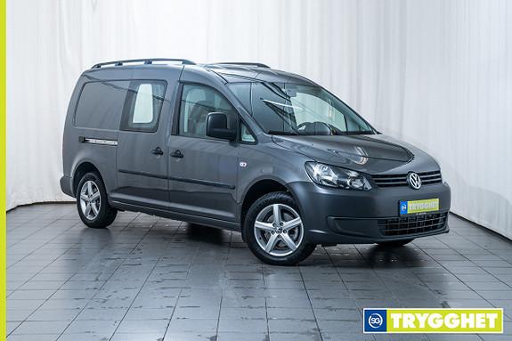 Volkswagen Caddy Maxi 1.6 102 TDI BMT LAV KM, CRUISE KONTROLL, DAB, BLUETOOTH, HENGERFESTE ++++