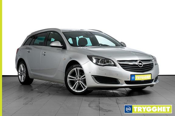 Opel Insignia Sports Tourer 1,6 CDTi 136hk Cosmo PARKVARMER-BIXENON-OPC INTERIØRPAKKE-18