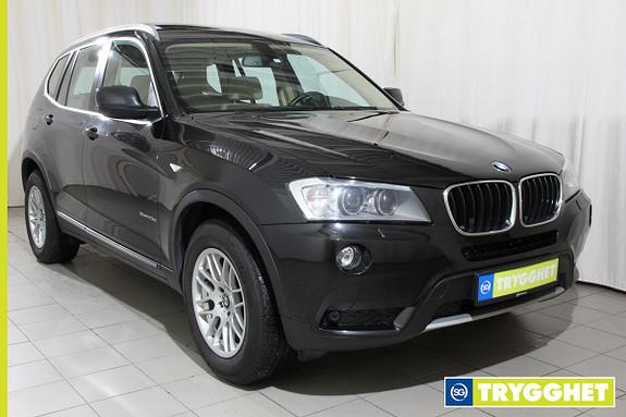 BMW X3 xDrive20d (184hk) Automat Navi,dab,el.hengerfeste,panorama,el.bakluke,el.sete med memory