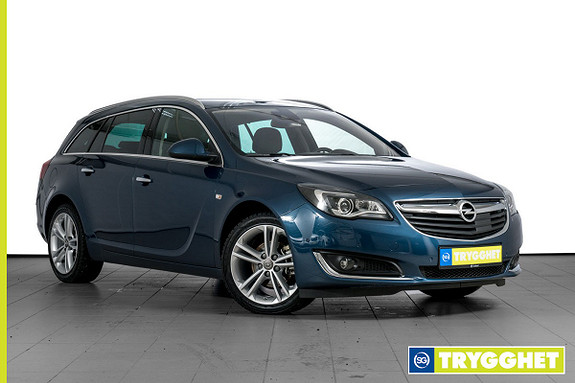 Opel Insignia Sports Tourer 1,6 CDTi 136hk Premium BIXENON-NAVI-SKINN-DAB-USB-BOSE-ADAPTIV CC++