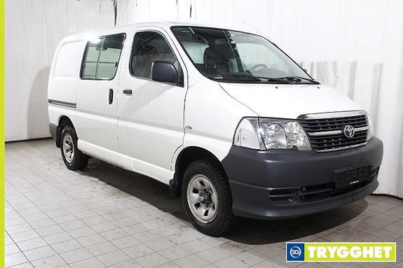 Toyota HiAce D-4D 5-d 117hk 4WD kort 4x4 - Diesel - Godt vedlikeholdt
