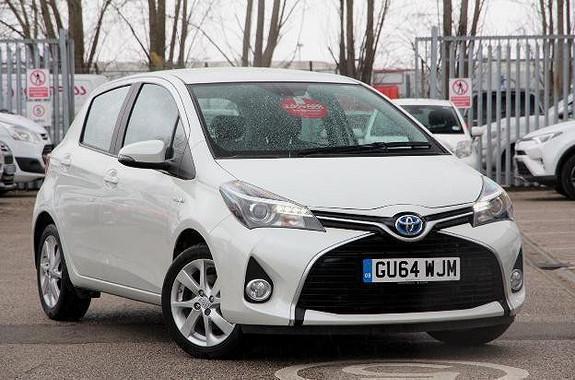 Toyota Yaris  2015, 52500 km, kr 169973,-