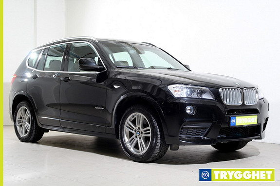 BMW X3 xDrive20d 163hk Automat M-sport/Rattvarme/Naviproff/PerformanceControl/Ryggekamera/Xenon