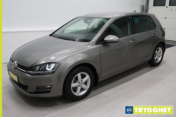 Volkswagen Golf 1,6 TDI 110hk Highline Klima,cruise,webasto,DAB+,tlf,Bixenon,parksensorer,8 alu