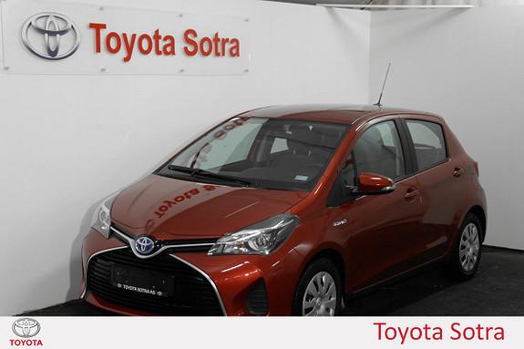 Toyota Yaris 1,5 Hybrid Active e-CVT  2015, 52000 km, kr 179000,-