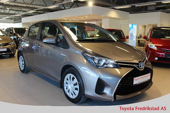 Toyota Yaris 1,5 Hybrid Active S e-CVT , ryggekamera, navigasjon,  2015, 44095 km, kr 189000,-