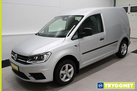 Volkswagen Caddy 2,0 TDI 102hk AC,DAB+,parksensorer,tlf,adaptiv cruise,8 alufelger,