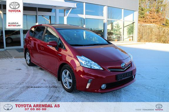 Toyota Prius 1,8 VVT-i Hybrid Premium Meget hel og pen 7 seter Prius Premium  2013, 67000 km, kr 279000,-