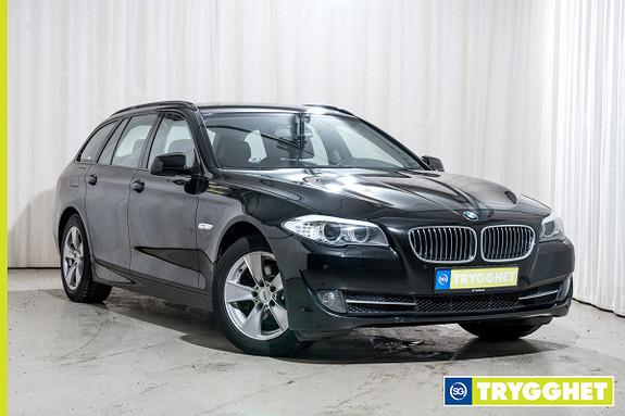 BMW 5-serie 520d Touring (163hk) Automat Comfortstoler El.bakluke PDC Navi Xenon
