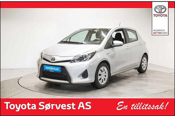 Toyota Yaris 1,5 Hybrid Active S e-CVT ( Sølv, automat, 5-dørs, nybilgaranti )  2013, 39456 km, kr 159000,-
