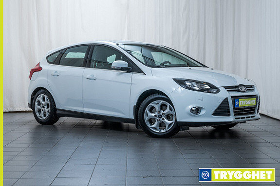 Ford Focus 2,0 TDCi 115hk Sport Aut. SVÆRT LAV KM STAND! AUTOMATGIR ! DAB+! DIESELVARMER. +++