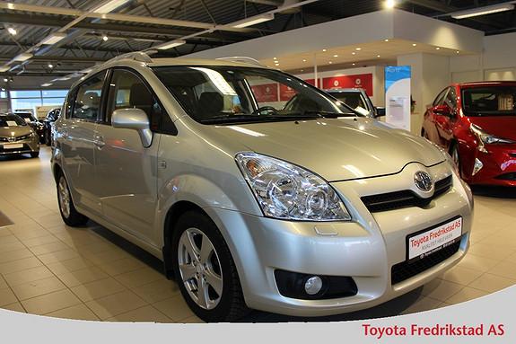 Toyota Corolla Verso 2,2 D-4D Sol 7 seter 1 eier, servicehistorikk, hel og pen bil,  2008, 117200 km, kr 129000,-