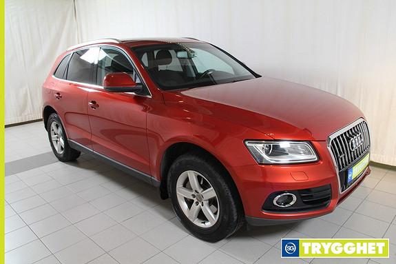 Audi Q5 2,0 TDI 163hk quattro S tronic parkeringsvarmer m/fjernkontroll,2 tonn hengervekt,DAB+