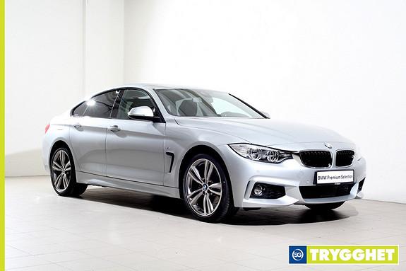 BMW 4-serie 420d xDrive Gran Coupé 190hk 100 Edition aut -Mpakke-Navi-HeadUp-ActiveCruise-LED++