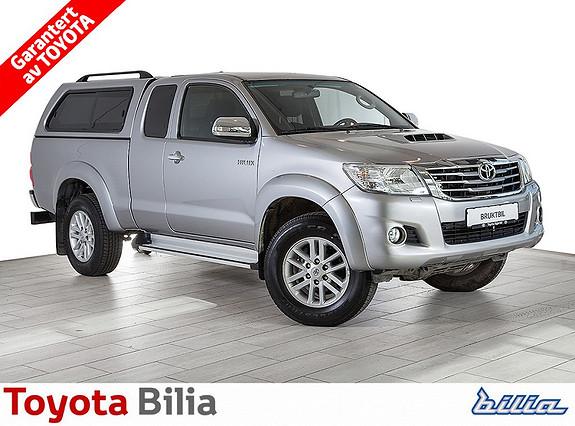Toyota HiLux D-4D 144hk Extra Cab 4WD SR5 ryggekamera, hengerfeste, stigtrinn, hardtop  2015, 26961 km, kr 323000,-