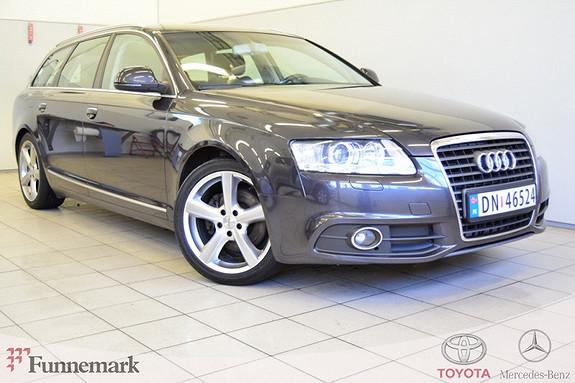 Audi A6 2,0 TDI e 136 hk S-LINE  2009, 156000 km, kr 139000,-