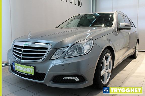 Mercedes-Benz E-Klasse E220 CDI T Avantgarde aut COMAND, EL.BAKLUKE, HENGERFESTE, XENON, SKINN