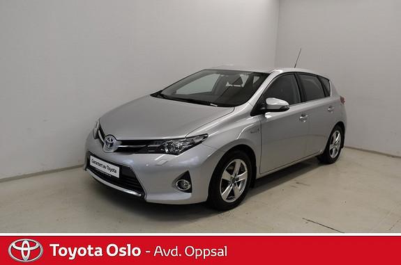 Toyota Auris 1,8 Hybrid E-CVT Active Go navi Dab+  2013, 25931 km, kr 204900,-