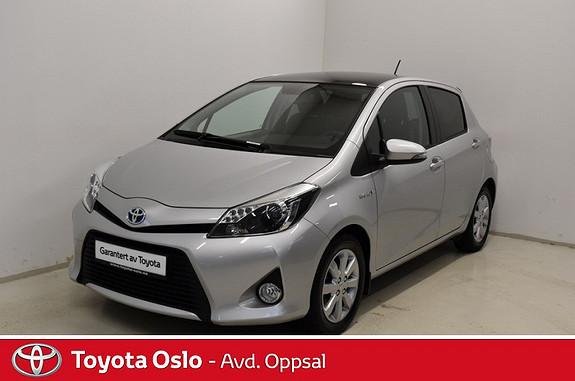 Toyota Yaris 1,5 Hybrid Style glasstak, automat, cruisekontroll  2013, 33969 km, kr 178900,-