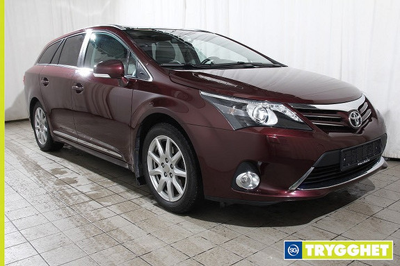 Toyota Avensis 1,8 147hk Premium Multidrive S Skinn - Automat - T.feste - Navigasjon - Xenon